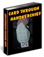 card through hanky trick